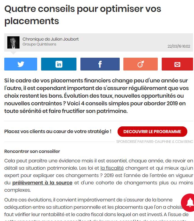 Article- Julien Joubert-Quintésens
