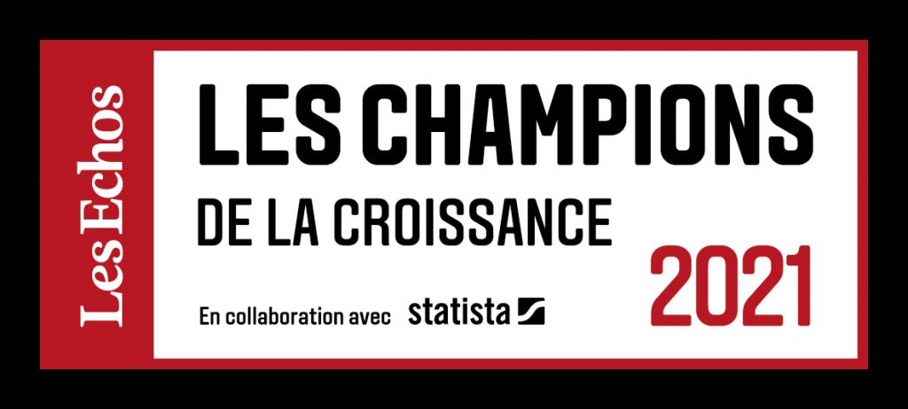 label champion de la croissance Les Echos Statista